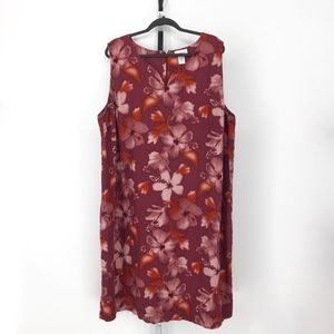 Avenue Casual Multi-Color Floral Dress